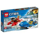 Конструктор Lepin Cities 02104 Погоня по горной реке
